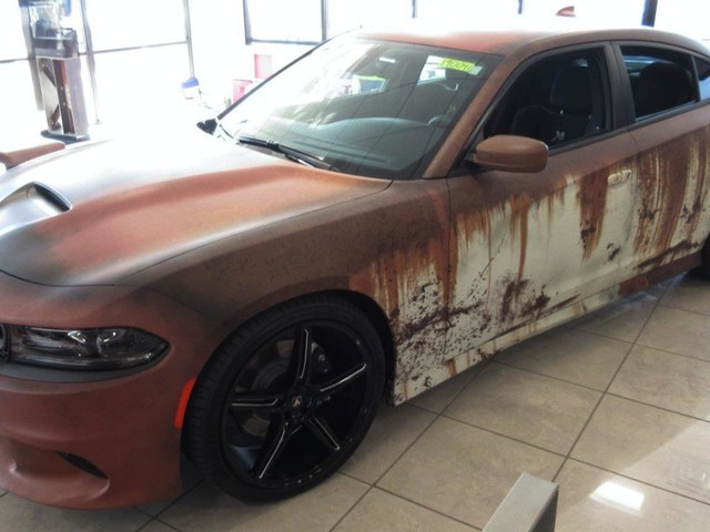 Want A New Dodge Charger That Looks Like It Came From A Junkyard? Check This 'Zombie Apocalypse Edition'