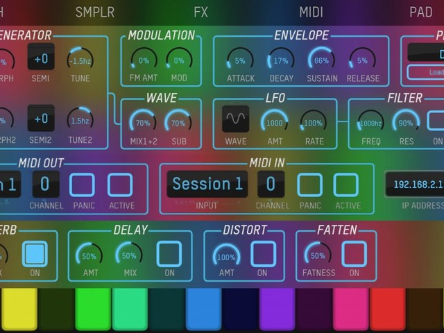 expressionPad is a new free Synth/Sampler instrument, that was better than I expected