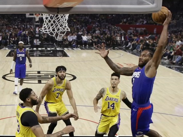 Lakers-Clippers: Leonard scores 30 points, leads Clippers over Lakers 112-102