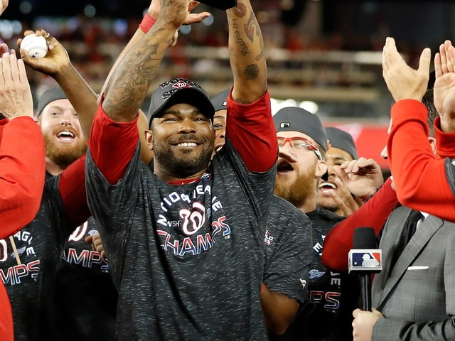 NLCS MVP Howie Kendrick misses Nationals workout due to family emergency