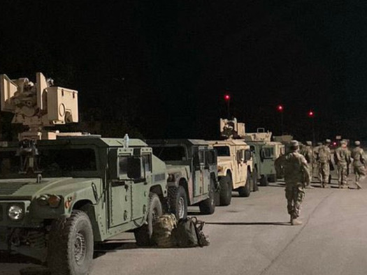 Texas National Guard Urges Members To Volunteer Amid Border Crisis
