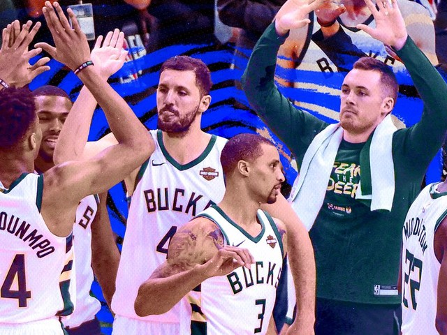 'Total team concept' is much more than a cliche for the Milwaukee Bucks