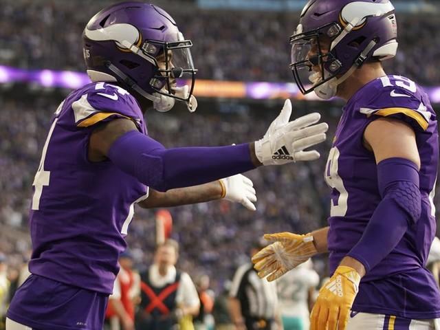 2018 Vikings grades: Adam Thielen and Stefon Diggs emerge as top NFL duo