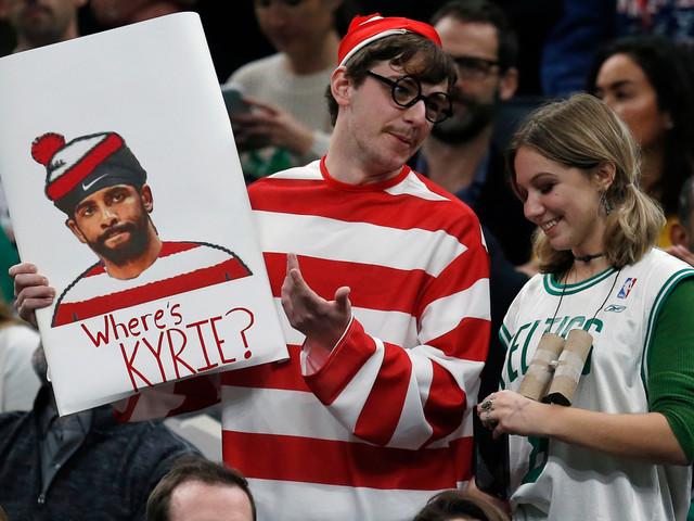 Kyrie Irving blasts Celtics hate with Instagram manifesto