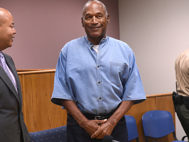 O.J. Simpson Inexplicably Claims He's Led A 'Conflict-Free Life'