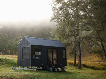 Tiny off-grid eco-cabin in Australia has everything you really need