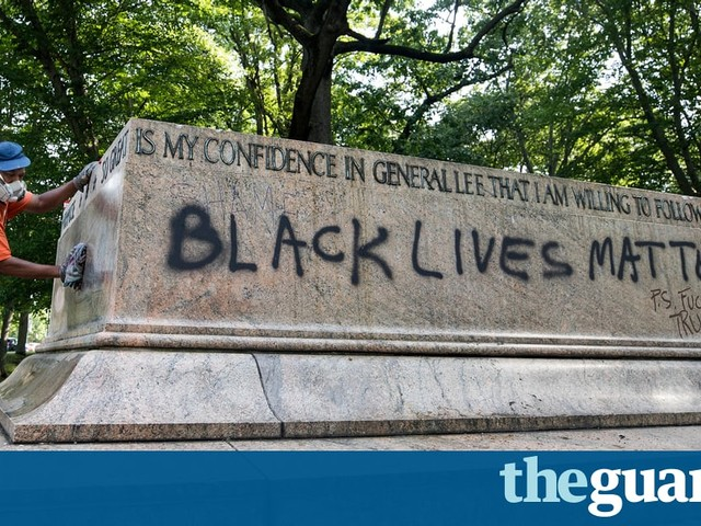 The Guardian view on Confederate statues: they must fall | Editorial