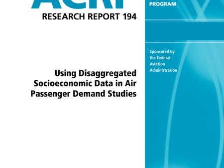 Using Disaggregated Socioeconomic Data in Air Passenger Demand Studies