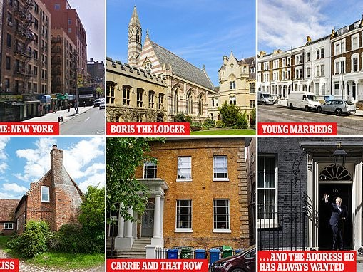 BoJo's abodes: How new Prime Minister Boris Johnson made it to the top of the property ladder