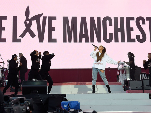 Ariana Grande Tells Manchester Fans 'We're Gonna Be All Right'