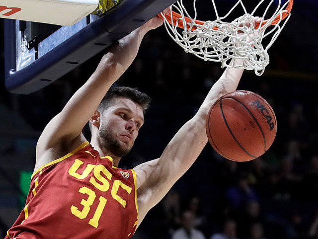 Nick Rakocevic, USC dominate inside to beat Nevada