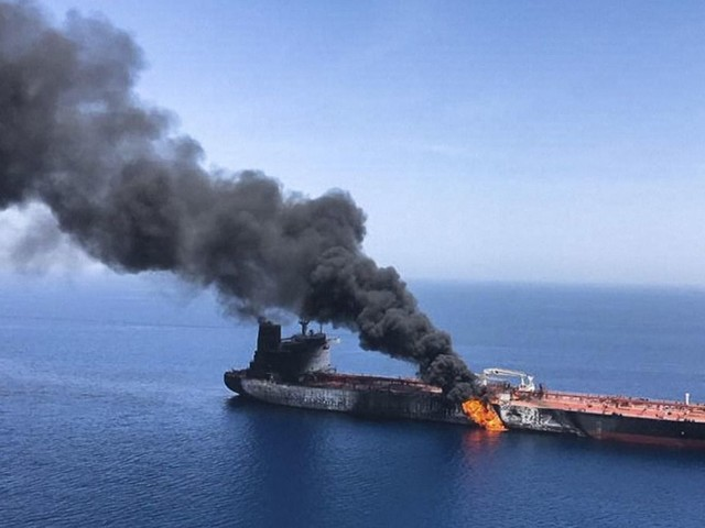 Trump team weighs options against Iran after tanker explosions