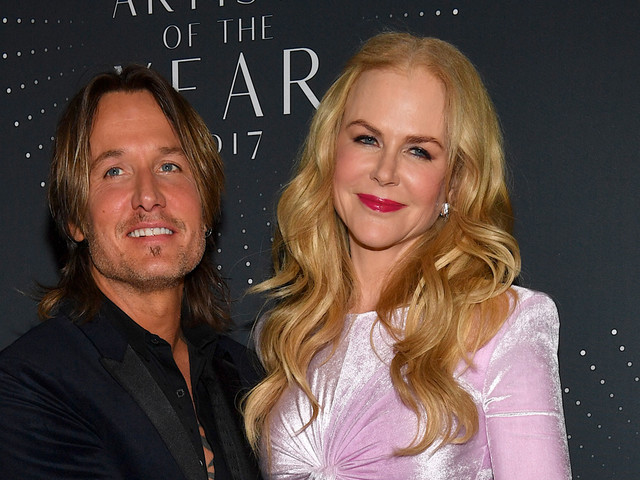 Nicole Kidman Supports Keith Urban at CMT Artists of the Year Awards 2017