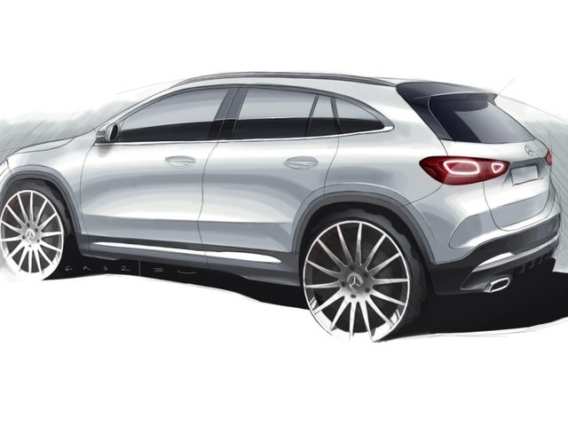 Finally, Some Heat: Mercedes-Benz Teases a Twin-free GLA