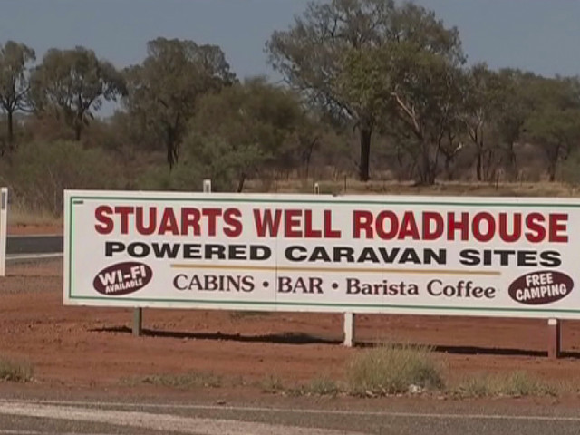 Police searching Australian Outback for woman find body