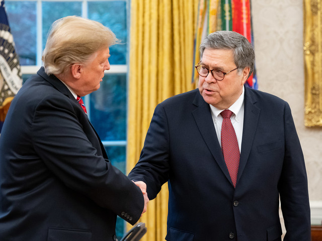 Trump Gives Barr Authority to Selectively Release Classified Information