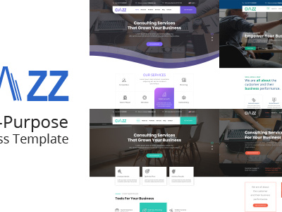 Ciazz | Multi-Purpose Business PSD Template (Business)