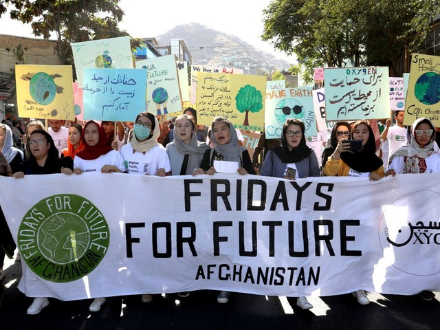 Friday's Global Climate Strikes Are Absolutely Massive
