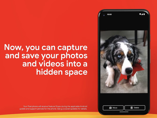 Google's password-protected photos feature is arriving on newer Pixels