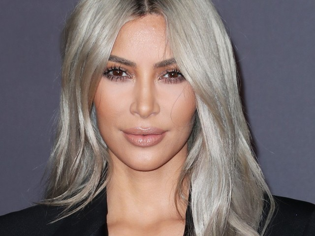 Is This The End Of Kim Kardashian's Blond Hair?