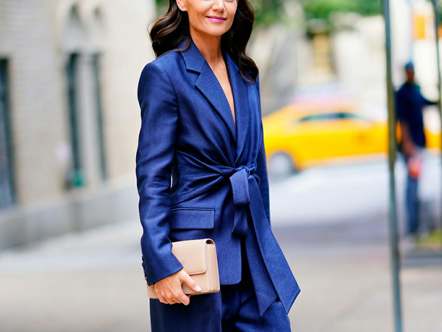 Katie Holmes Is Conducting the World's Greatest Charm Offensive