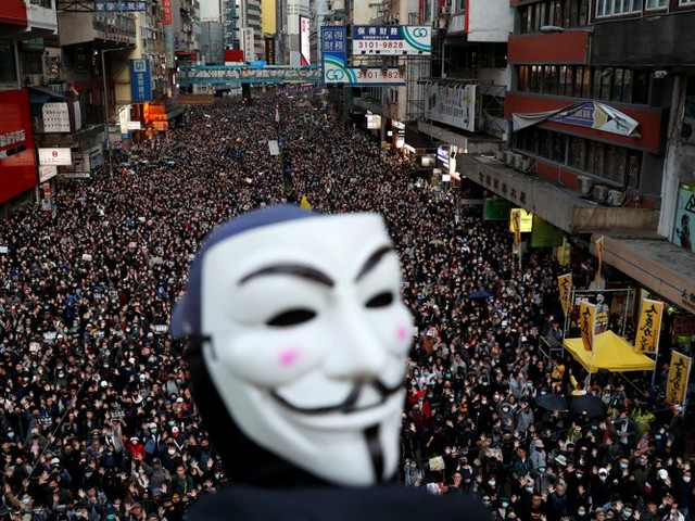 Hong Kong's Protesters Are the Wrong Kind of Patriots (For Beijing)