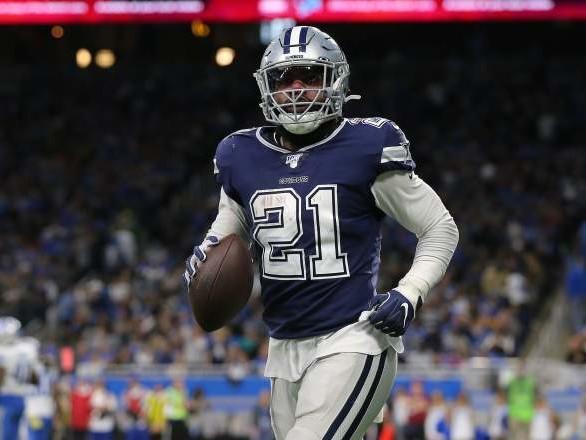 Cowboys' Ezekiel Elliott Does the 'Dak Dance' in End Zone [WATCH]