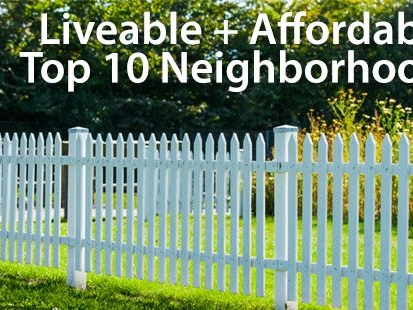 Affordable homes: the country's 10 hottest neighborhoods