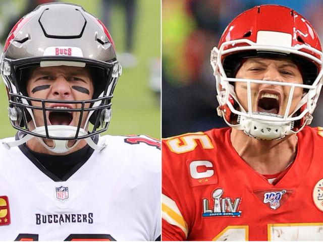 Tom Brady vs. Patrick Mahomes: It's been an even battle so far