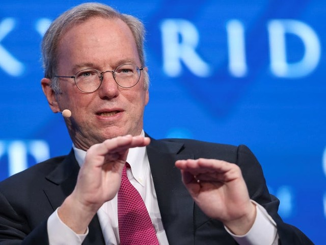 Ex-Google CEO Eric Schmidt has a plan to save US healthcare, and it involves a whole lot of data