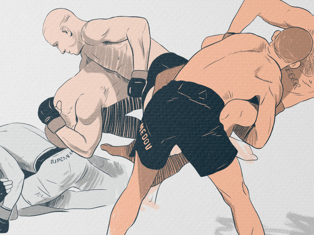 Evolution of the Guard Pass in MMA: Part I - The basics