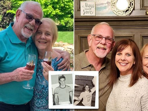 High school sweethearts reunite and marry 50 years after giving up daughter