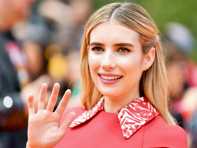 "Emma Roberts Just Dyed Her Hair ""1984 Brunette"" For American Horror Story"