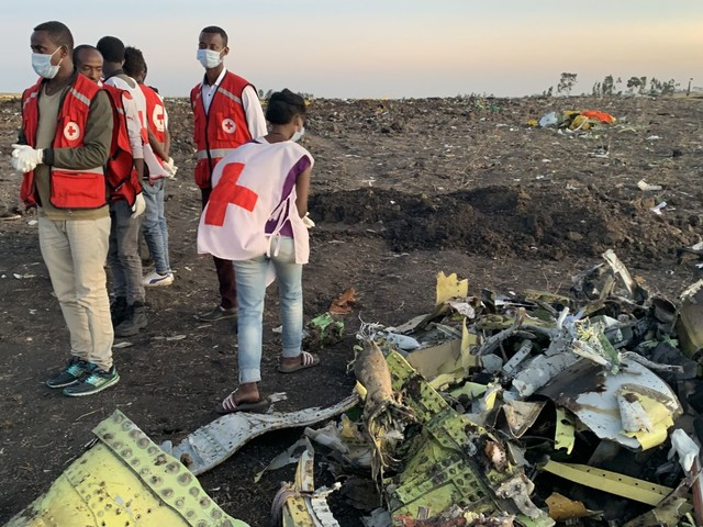 Ethiopian crash investigators reportedly find wreckage piece with similar setting to Lion Air plane