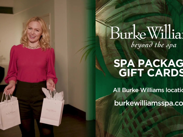 Give the Gift of Burke Williams!