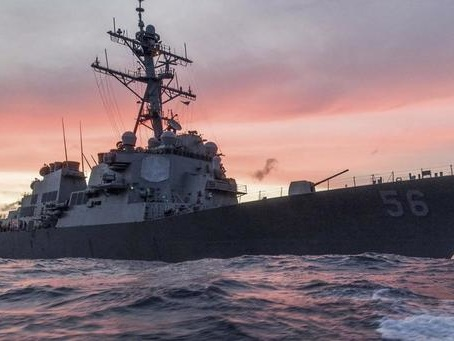 "Russia Threatens US Warship With ""Ramming"" Over Alleged Maritime Border Violation"