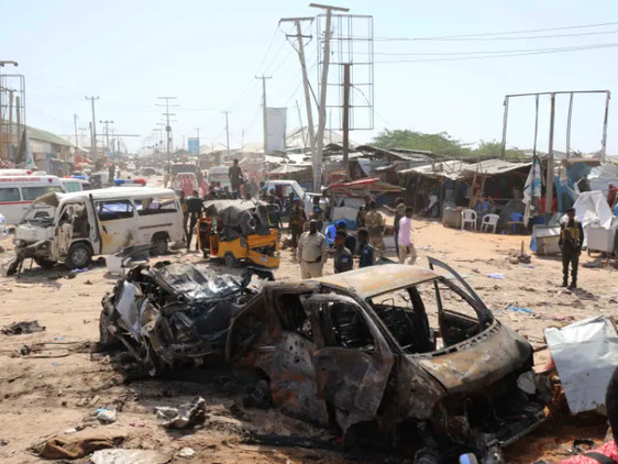 Somalia Truck Bomb Attack Rocks Capital During Rush Hour, At Least 90 Dead