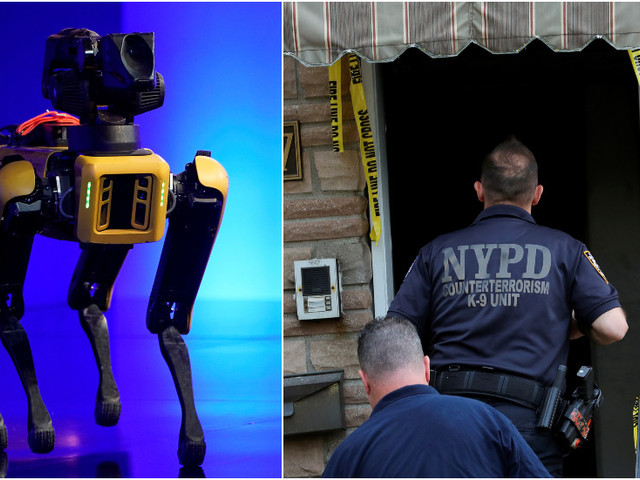 Off to live on a cyberfarm? NYPD retires robot cop dog after public outcry over 'creepy' & 'dystopian' tech