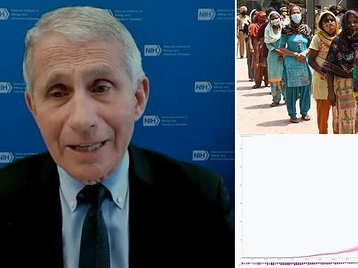 Fauci says Indian COVID-19 variant makes up 6% of all cases in the US and could become dominant