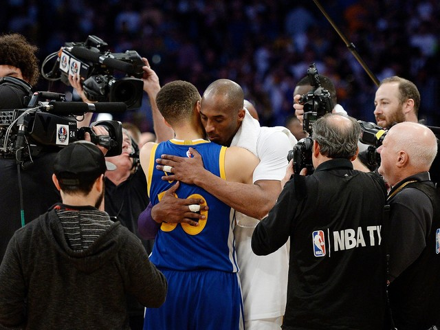 'All I can say is thank you': Steph and Ayesha Curry honor Kobe Bryant in moving tribute
