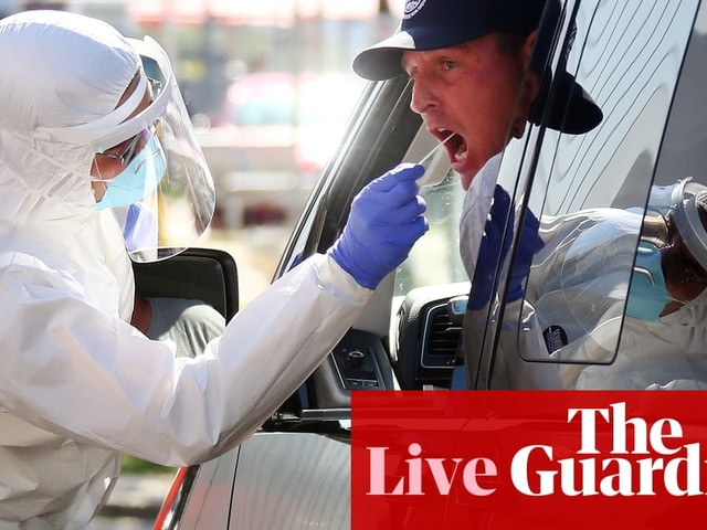 Coronavirus live news: England tightens restrictions, WHO says 'young people' behind some spikes