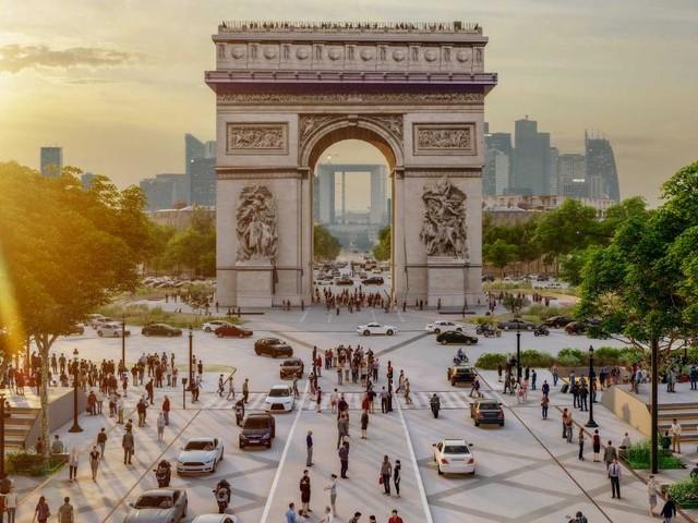 Paris' famous Champs-Élysées set for green transformation