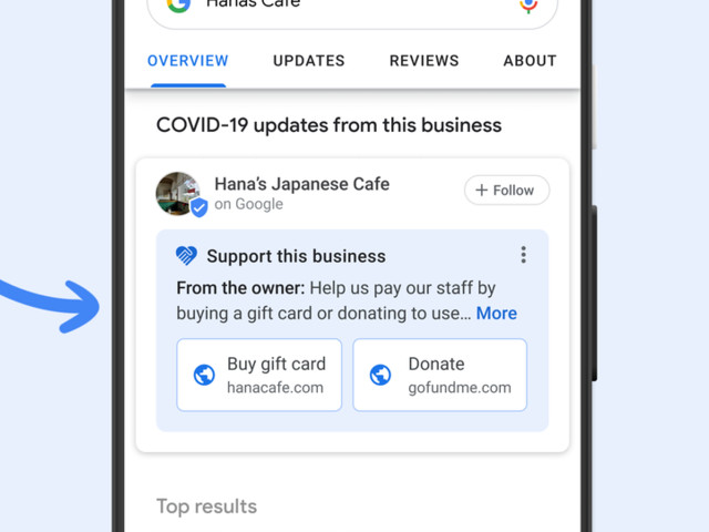 Google's new tools help businesses during COVID-19