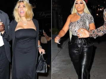 LIFETIME Says 'How You Doing?' To Wendy Williams For New Biopic + Daytime Talk Show Queen Celebrates 55th B'Day With Bestie Blac Chyna