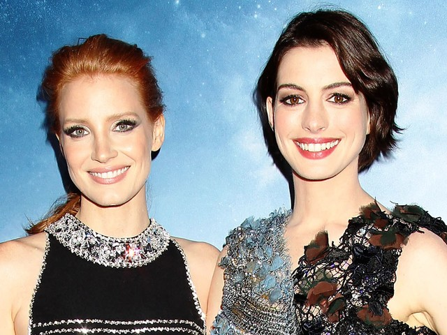 Jessica Chastain's Italian Wedding Was Attended By Anne Hathaway & Emily Blunt
