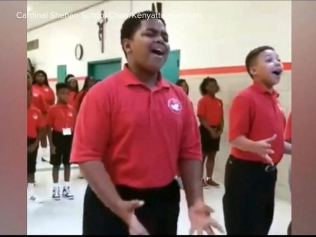 WATCH: Baltimore's Cardinal Shehan school choir rehearsal goes viral