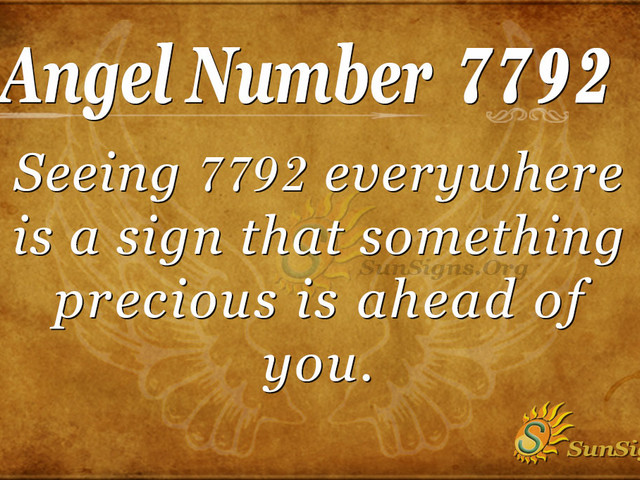Angel Number 7792 Meaning: Expecting From God