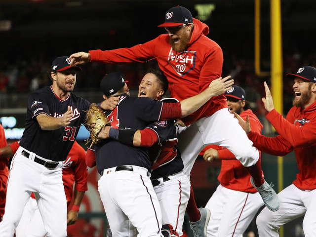 NLCS Game 4: Nationals complete sweep to clinch first-ever World Series appearance