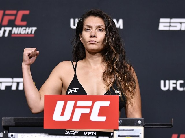 UFC Vegas 33: Nicco Montano's massive weight miss gets fight cancelled