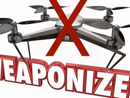 FAA asks public not to attach guns, bombs, or flamethrowers to drones
